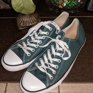 Converse Teal Sneakers